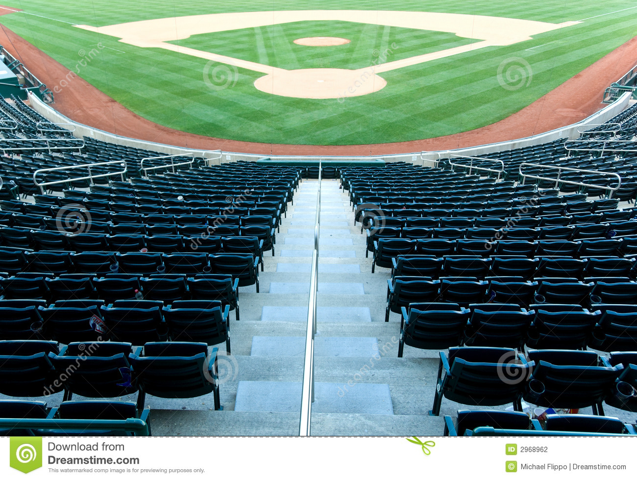 folding chair plans best potty training 2018 baseball stadium stock photography - image: 2968962