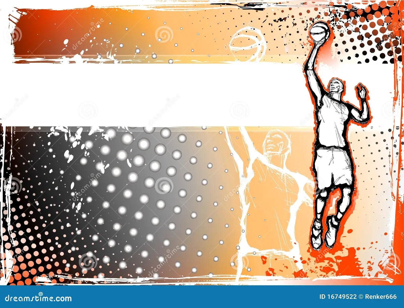 Basketball Background Stock Photography Image 16749522