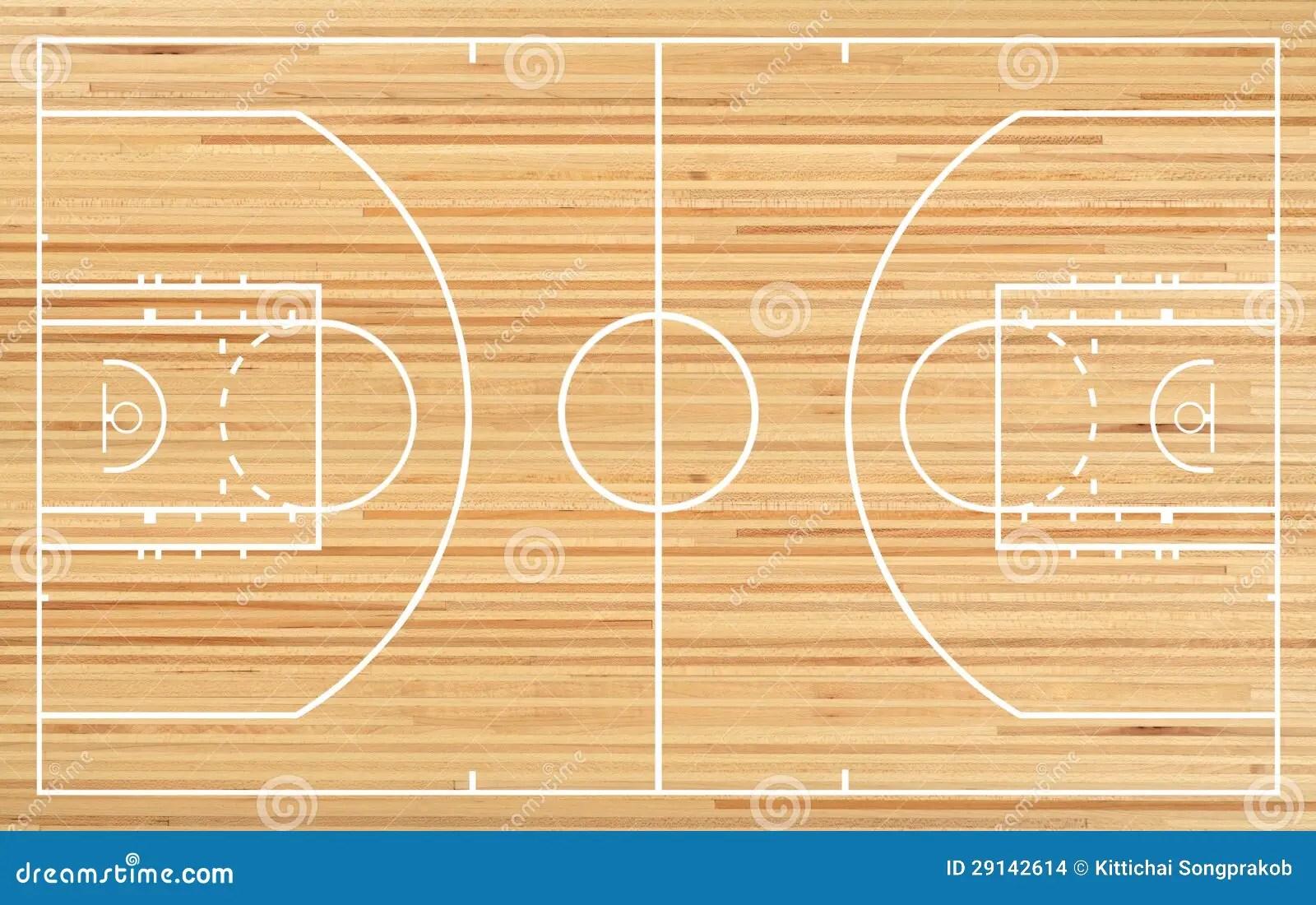 Basketball Court Stock Illustration. Illustration Of Fake