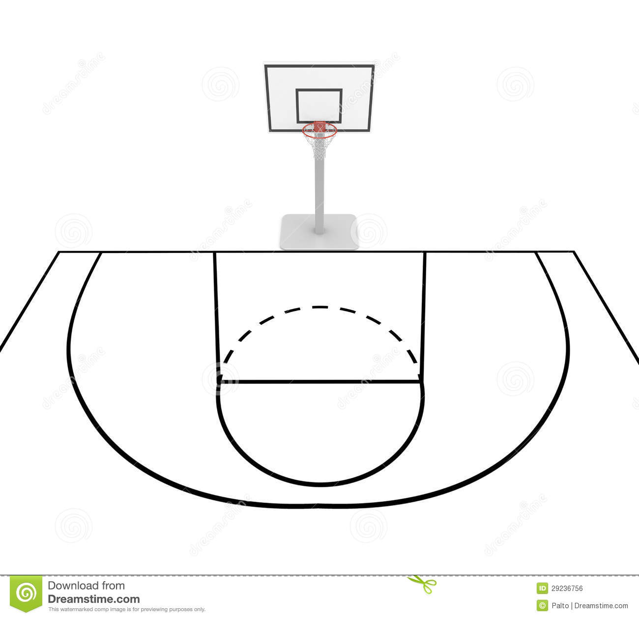 basketball court diagram for coaches sample network floor plan stock illustration of