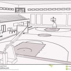 Racquetball Court Diagram Crochet Pattern Of A Gym Floor Map Elsavadorla