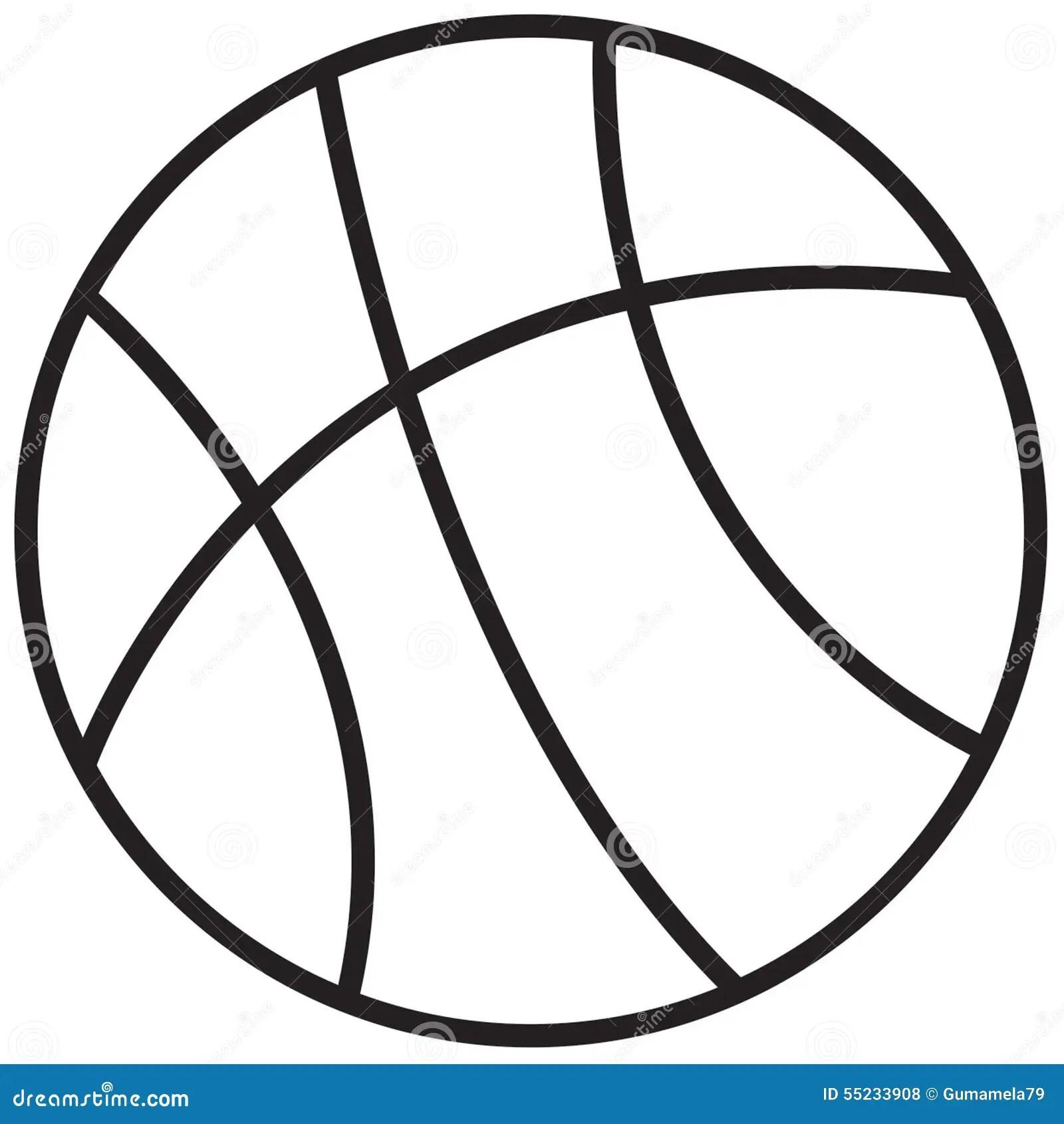 Basketball Stock Illustration Illustration Of Draw