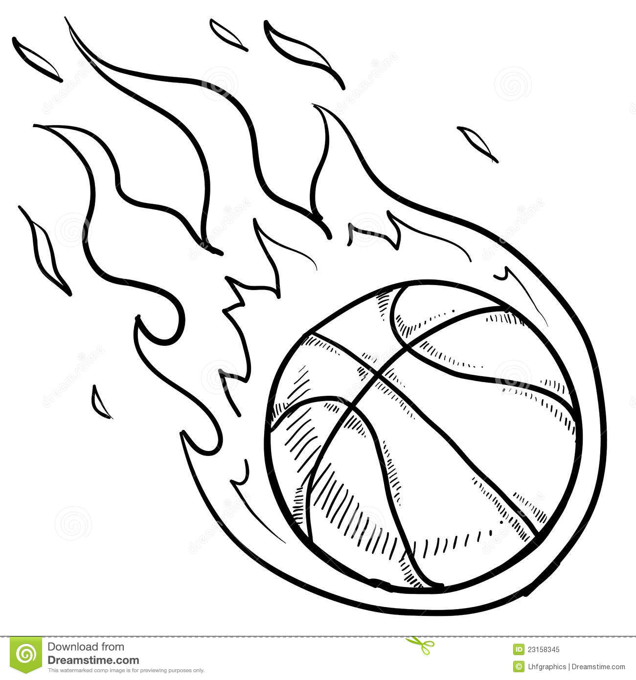Basketball playoffs sketch stock vector. Illustration of