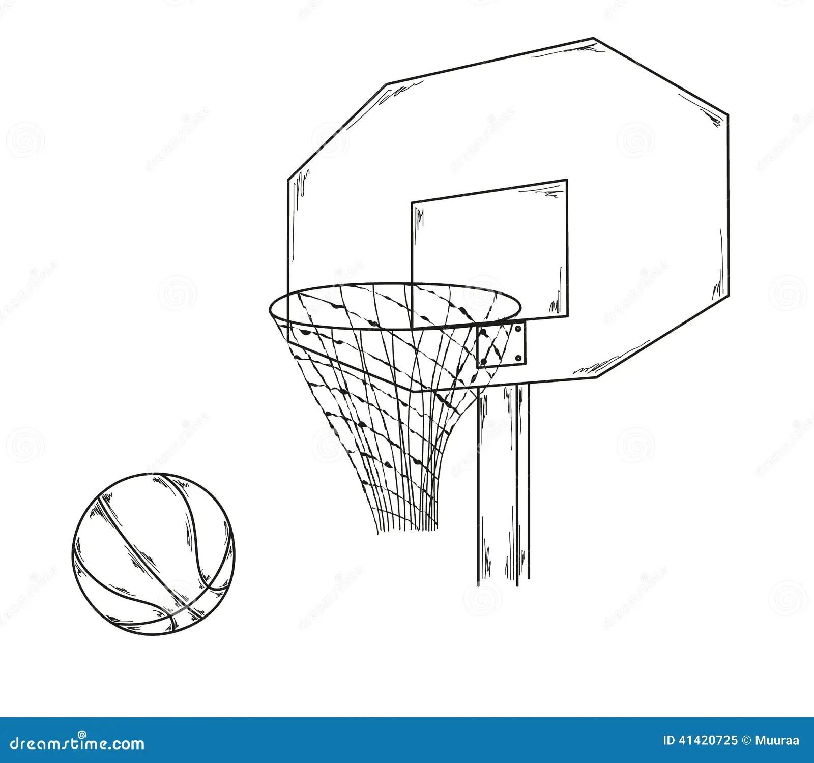 Basketball Stock Illustration