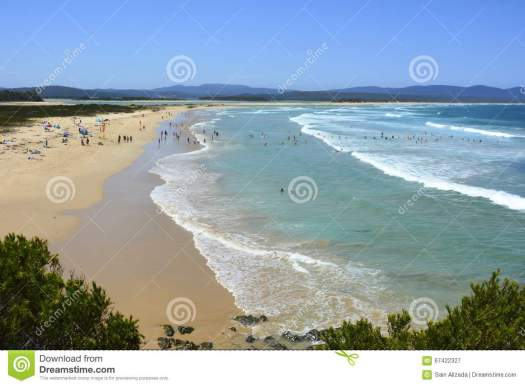 Bastion Point Beach In Mallacoota, VIC. Stock Image ...