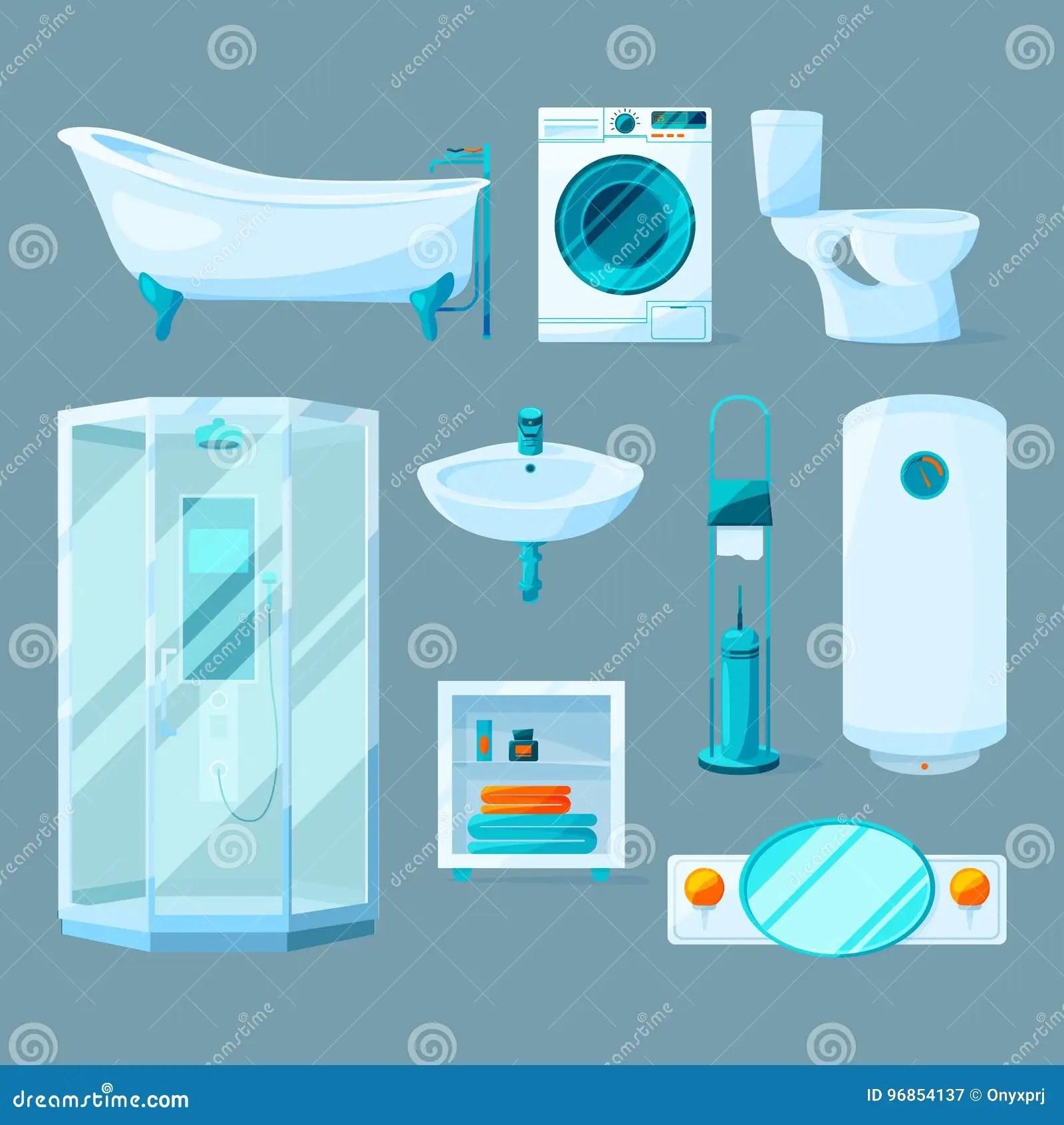 Cartoon Home Washroom Sink Vector Illustration  CartoonDealercom 23446114