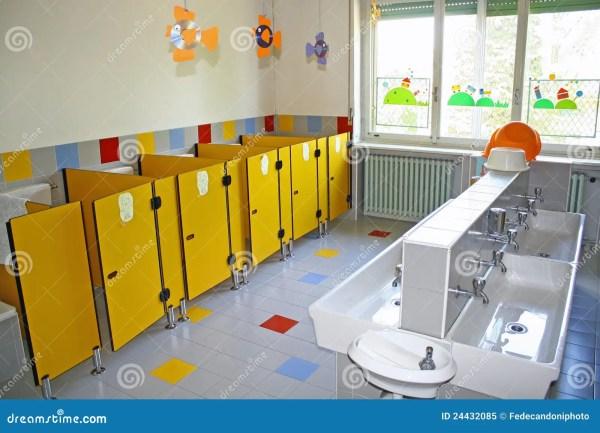 Preschool Bathroom Toilet