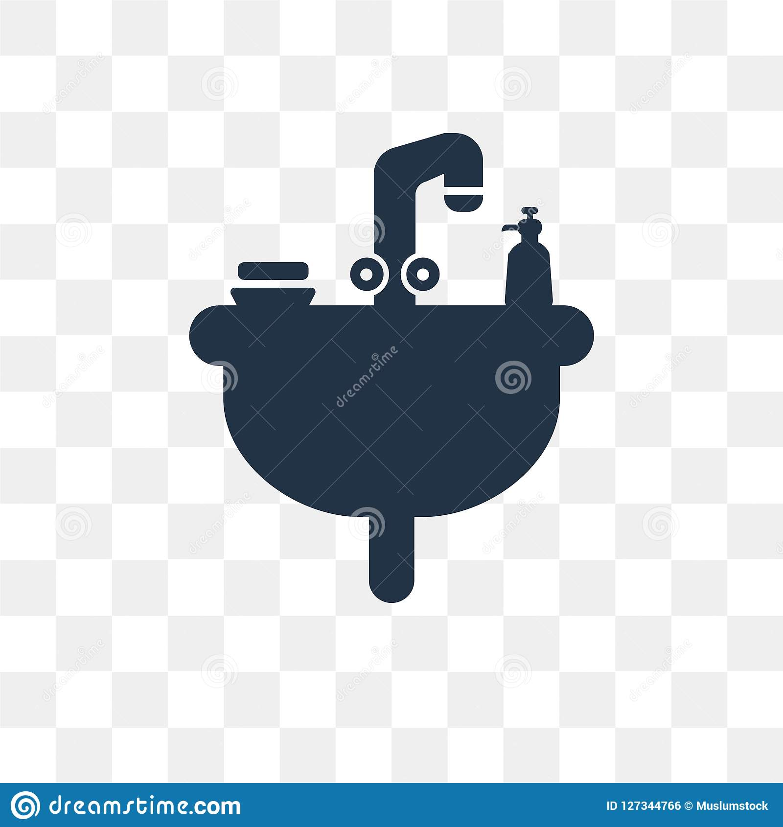 Bathroom Vector Icon Isolated On Transparent Background. Bathroom Transparency Concept Can Be Used Web And Mobile Stock Vector - Illustration of ...
