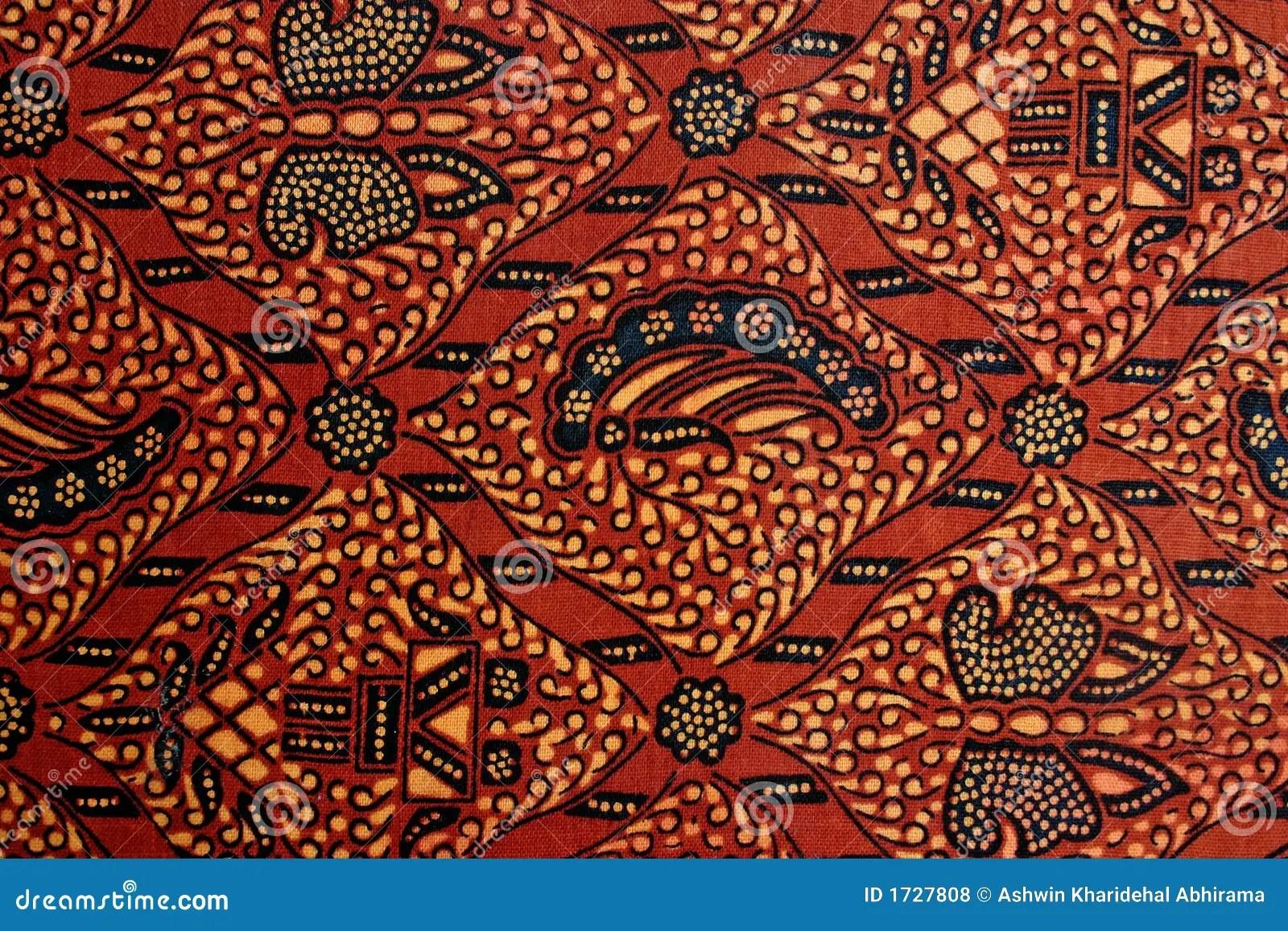 Batik Design Royalty Free Stock Photos  Image 1727808