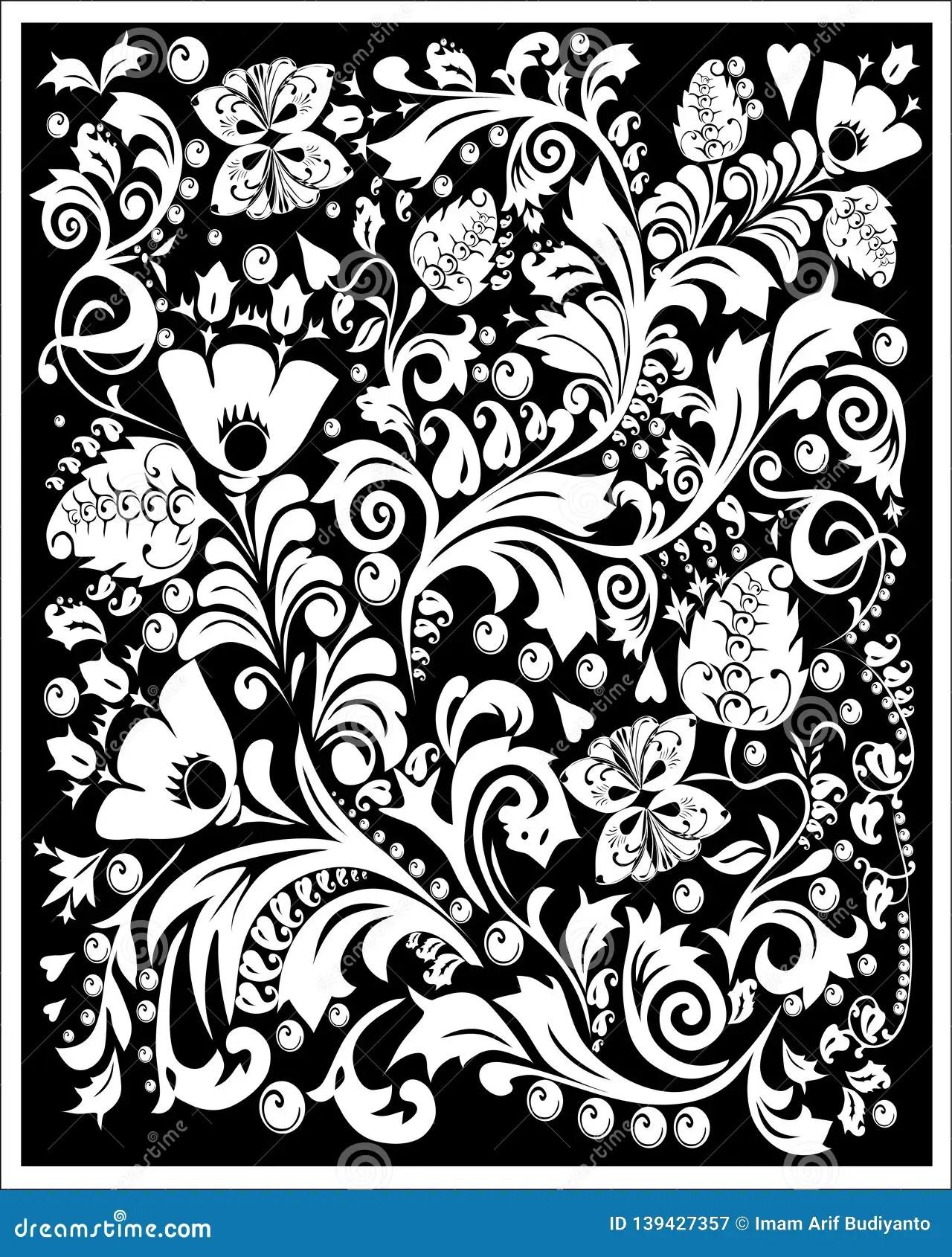 Batik Flora Stock Illustrations - 8,232 Batik Flora Stock