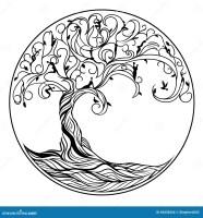 Baum des Lebens vektor abbildung. Illustration von nave ...