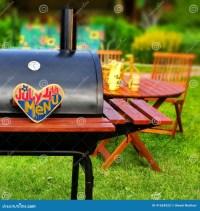 BBQ Summer Backyard Party Scene Stock Photo - Image: 41654322