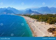 Beach Antalya Turkey Stock - 54526527