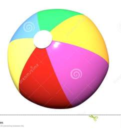 beach ball clip art isolated white background  [ 1300 x 821 Pixel ]