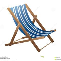 Wooden Frame Beach Chairs Grey Long Chair Covers Royalty Free Stock Photography Image 23981847