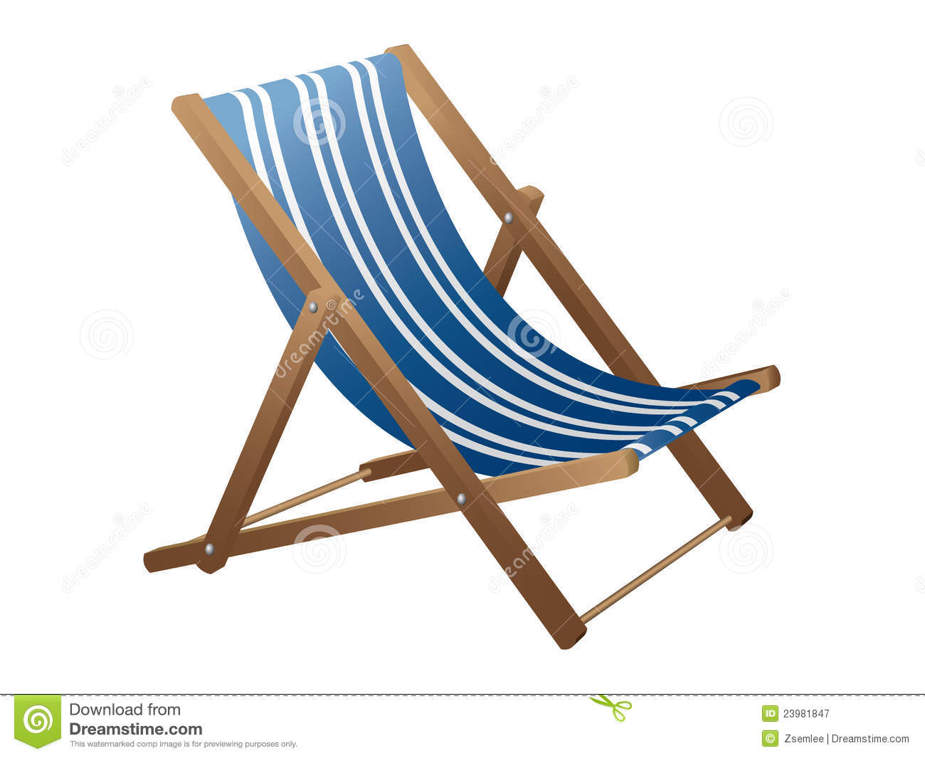 Beach Chair Clips Beach Chair Royalty Free Stock Photography Image 23981847