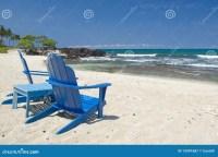 Beach Chairs Hawaii Royalty Free Stock Photography - Image ...