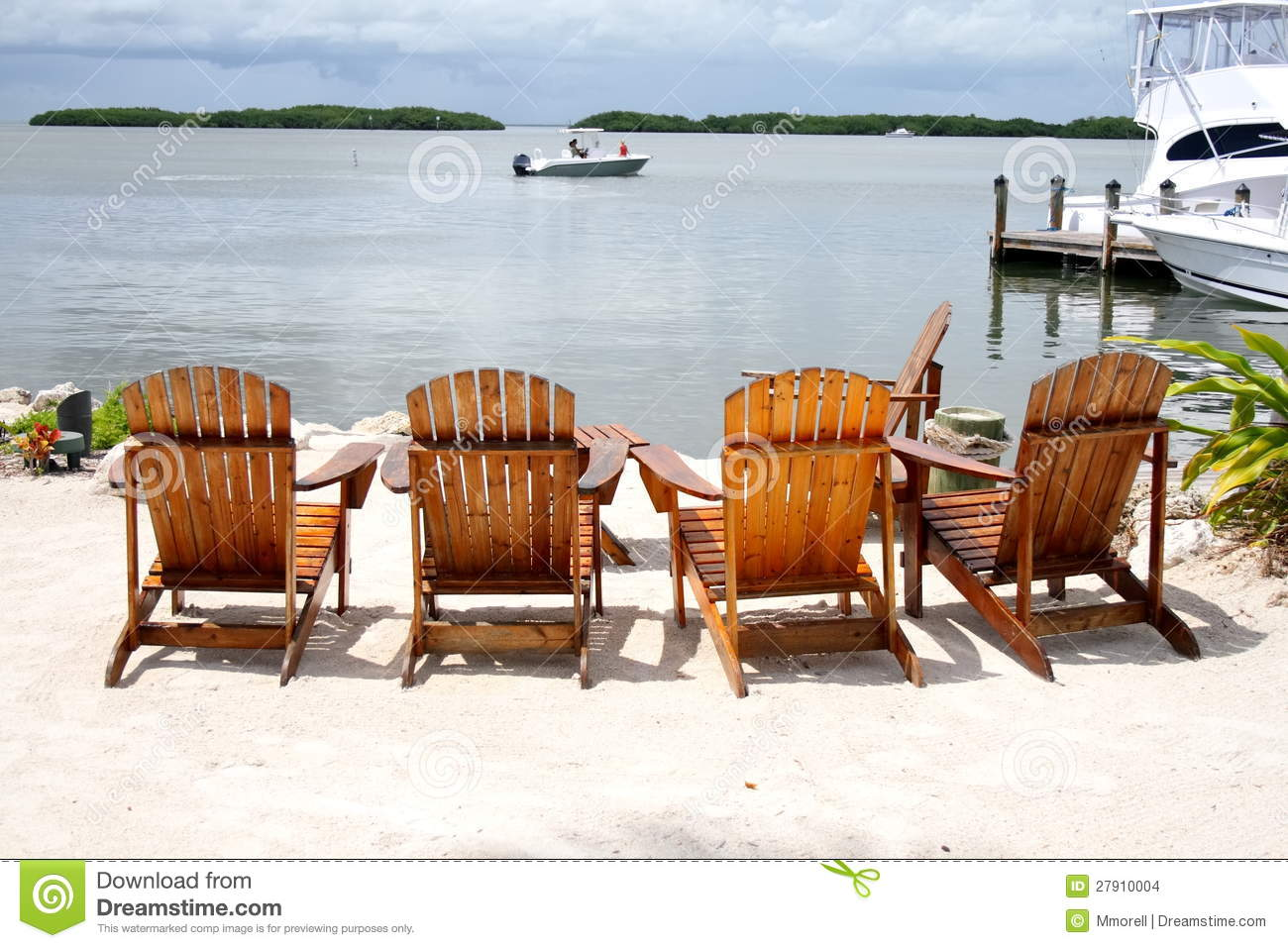 perfect beach chairs swivel chair desk and ocean view stock images image