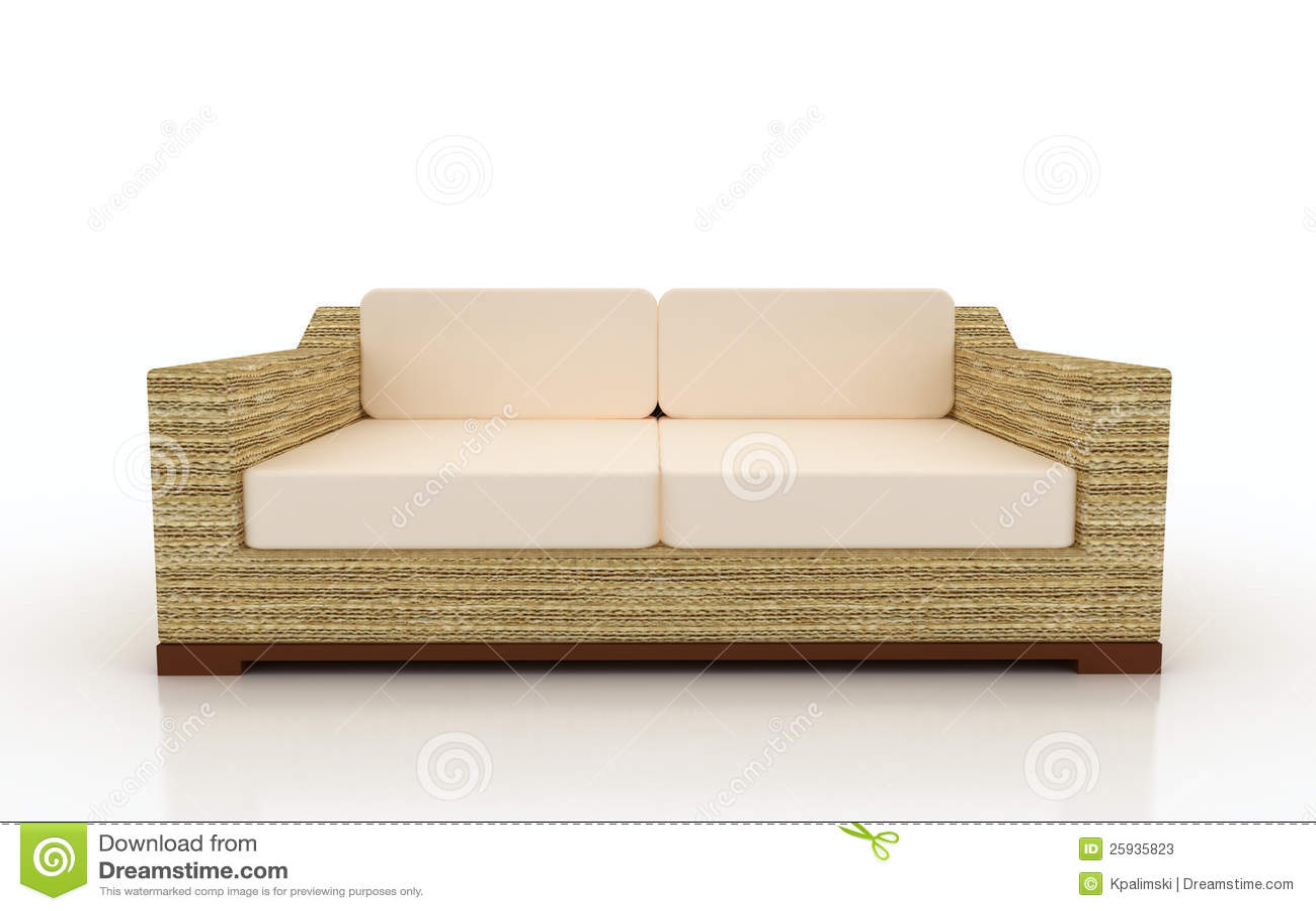beach print sleeper sofas extra long for sale lounger sofa furniture stock illustration image