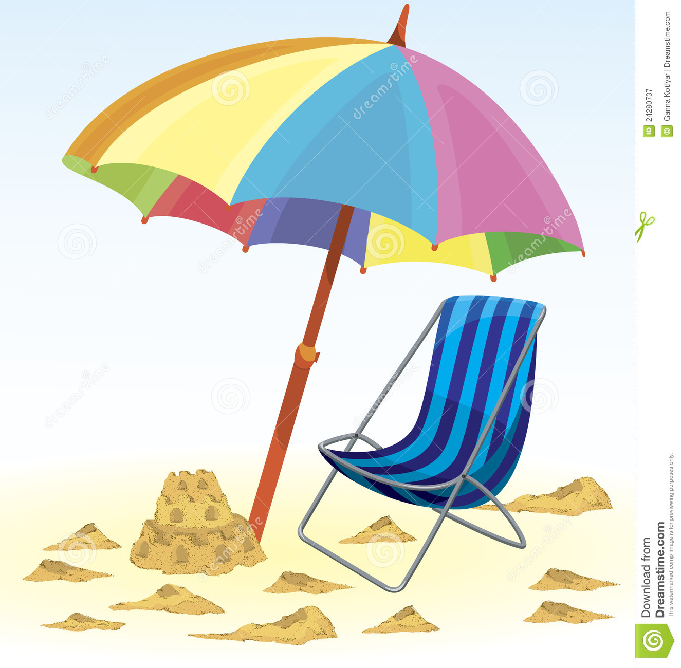 beach chair and umbrella clipart how to make covers for christmas sand resolution 1325x1300