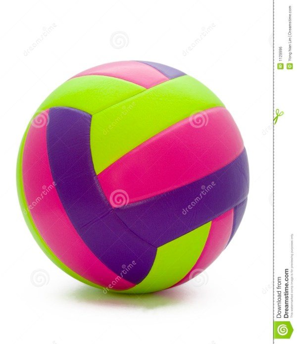 Beach Volleyball Stock Of Isolated