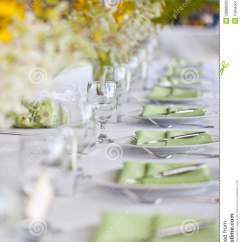 Restaurant Chairs For Less Jazzy Power Chair Accessories Beach Wedding Decor Table Setting And Flowers Royalty Free Stock Photo - Image: 28888065