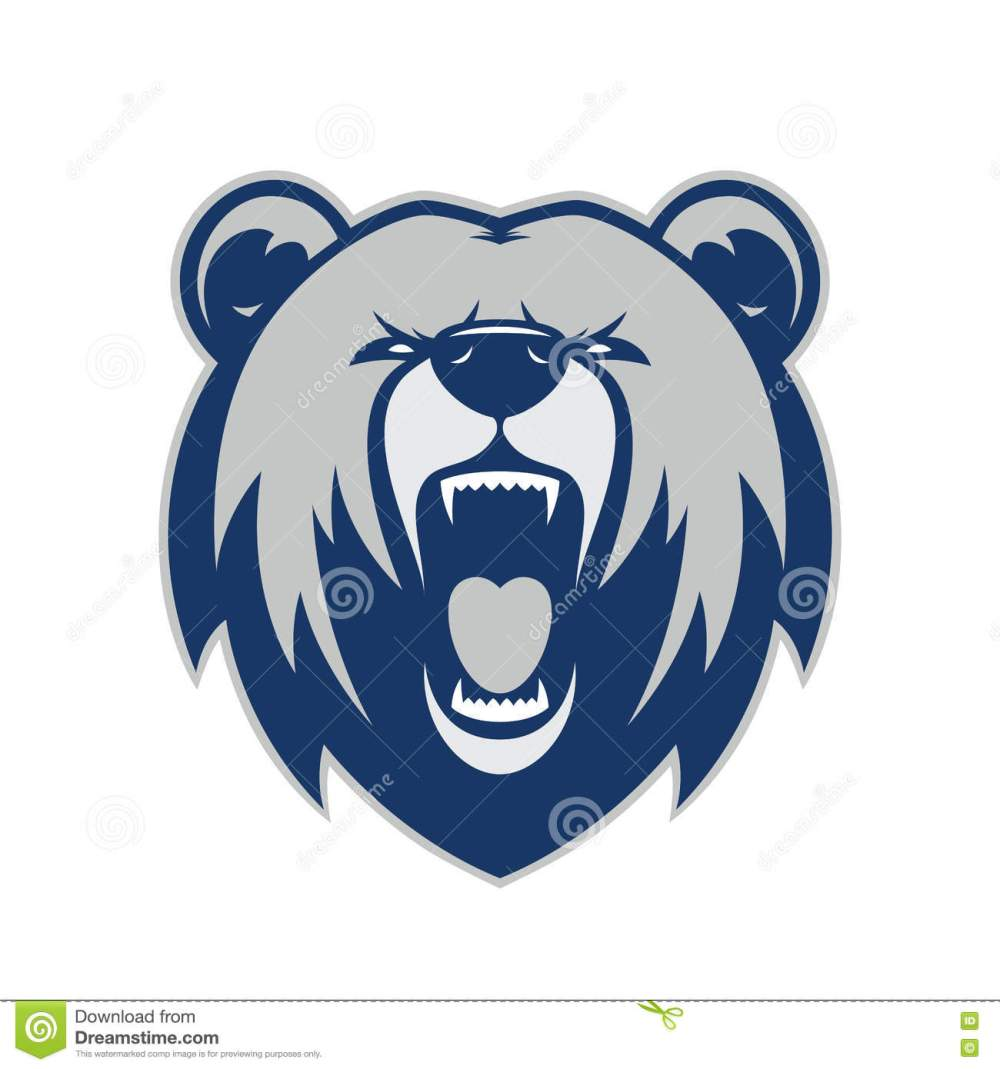 medium resolution of clipart picture of a bear head cartoon mascot logo character