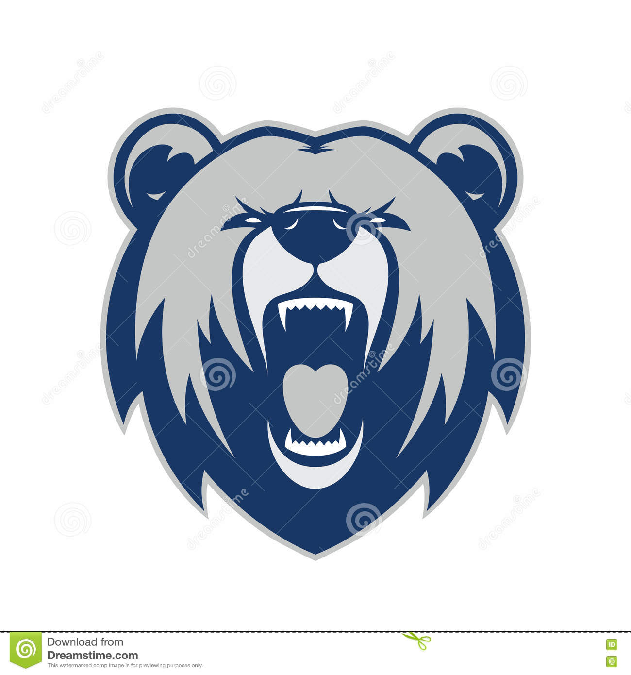 hight resolution of clipart picture of a bear head cartoon mascot logo character