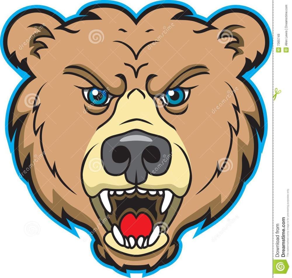 medium resolution of bear mascot logo