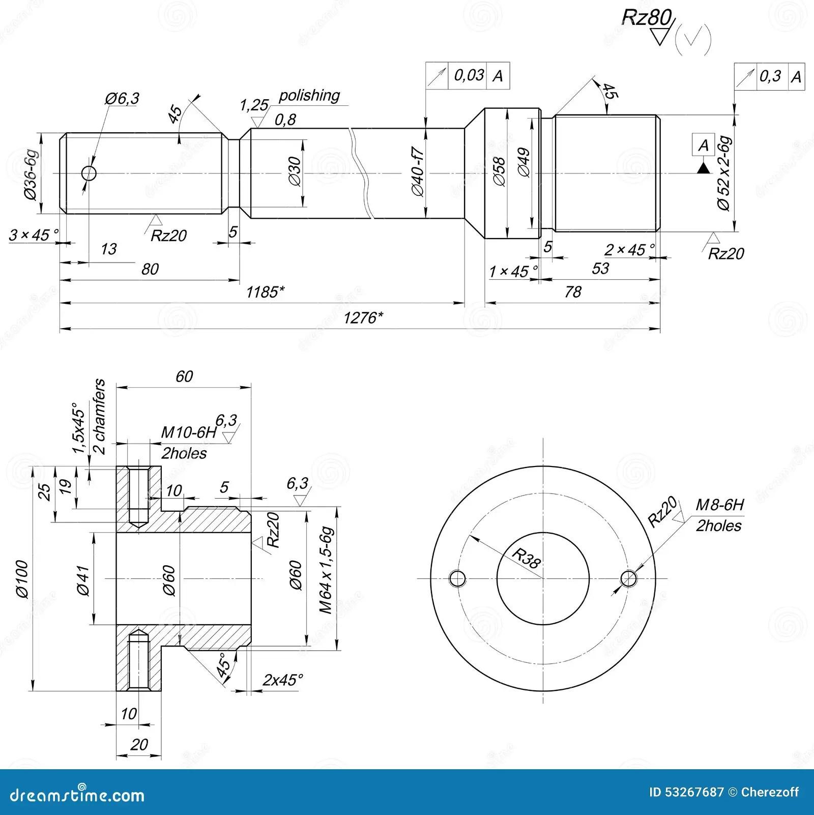 Autocad Drawing Bearings