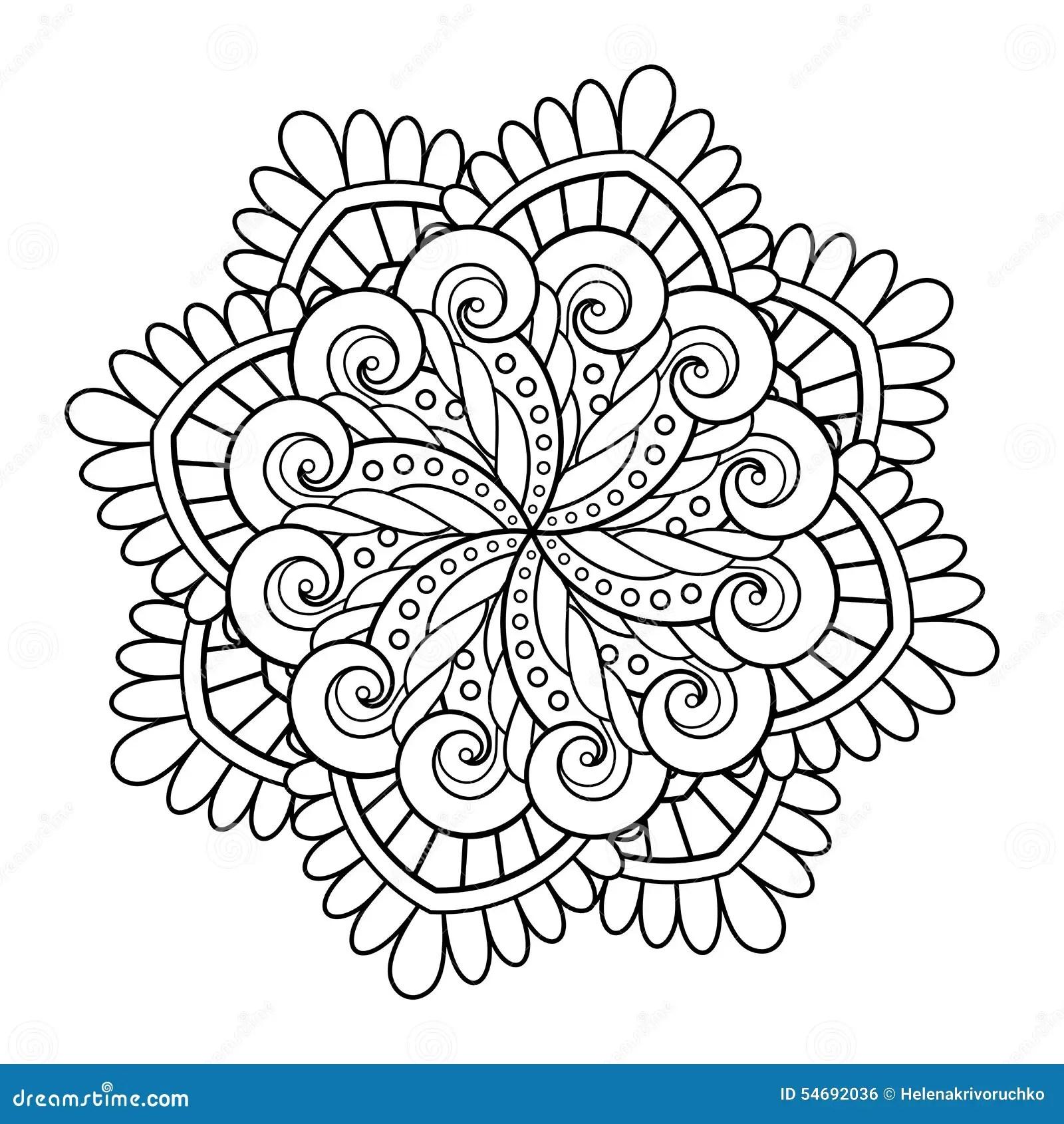 Beau Mandala De Deco De Vecteur Illustration De Vecteur