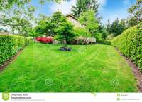 Beautiful Backyard Garden Stock Photo - Image: 39961389