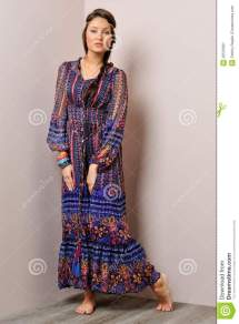Beautiful Barefoot Women Dress