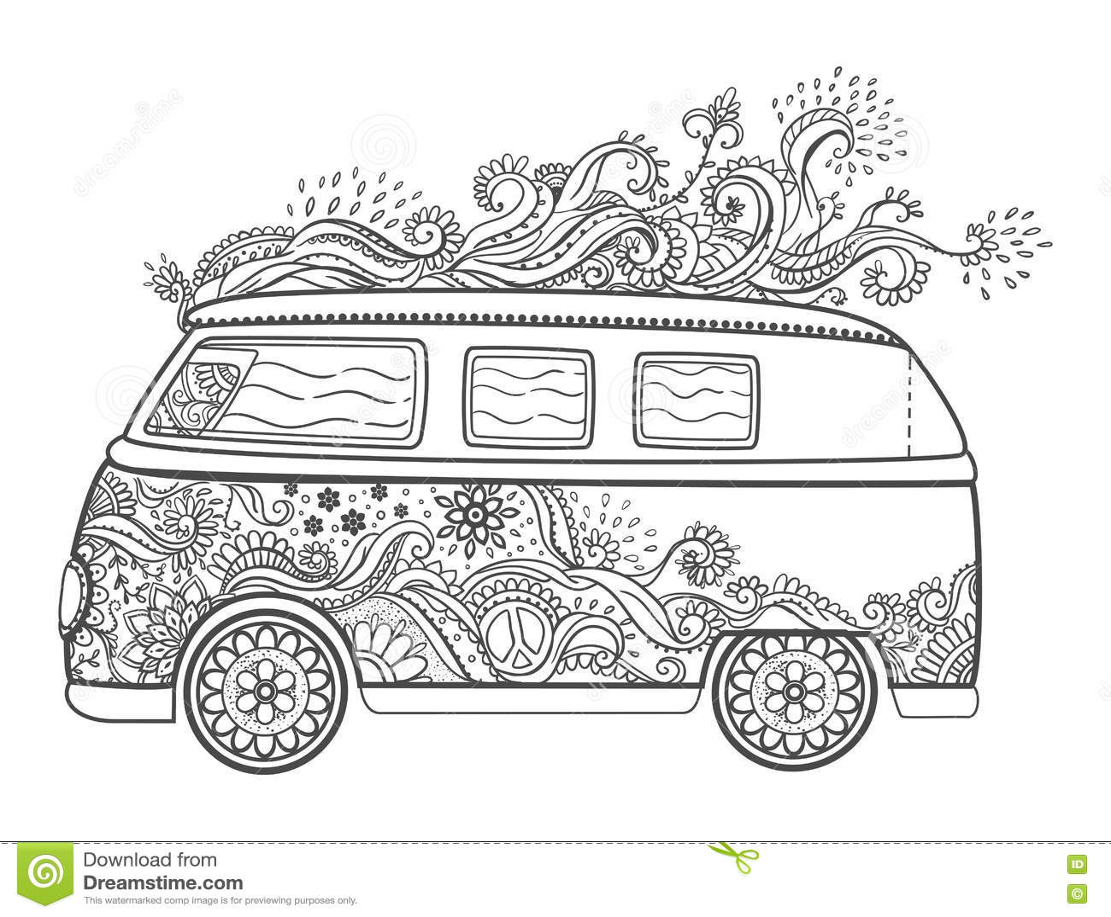 Volkswagen Cartoons Illustrations Amp Vector Stock Images