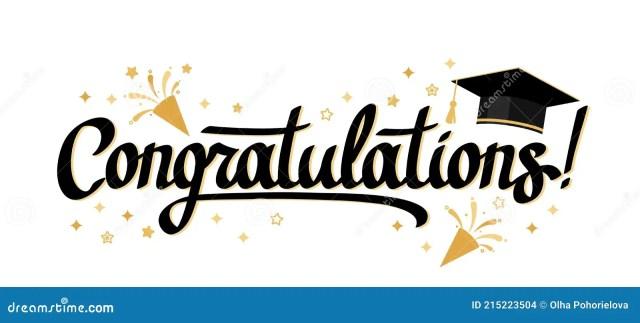 Congratulations Letter Stock Illustrations – 18,18