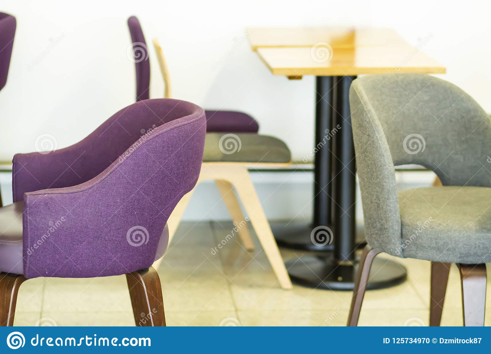 Beautiful Chairs Beautiful Cozy Armchairs In Interior Of Cafe Chairs And Tables In
