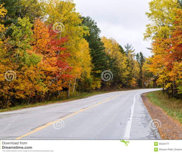 Beautiful Fall Colors In Michigan