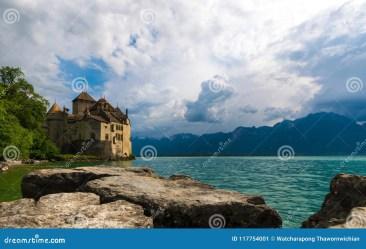 chillion castle fantasy lake