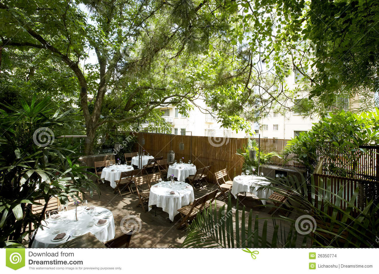 desk chair modern kitchen back covers the beautiful garden restaurant stock photo - image: 26350774