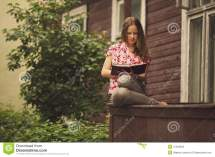 Sitting Porch Hot Girls Wallpaper Beautiful Girl