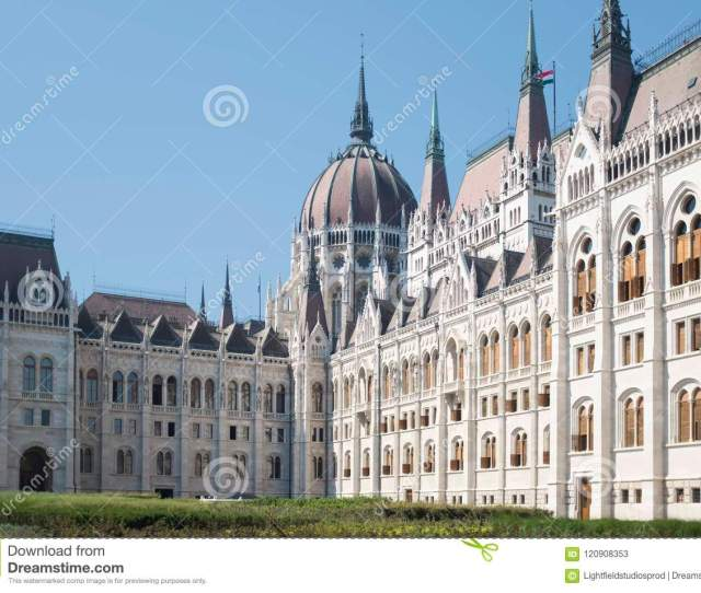 Beautiful Gothic Architecture Of Famous Parliament Building