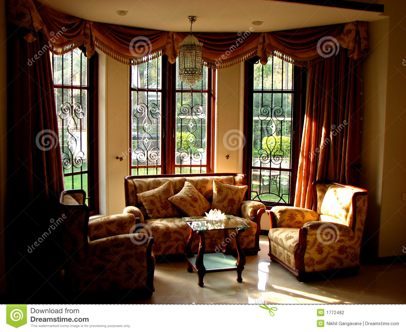 Beautiful Interiors Stock Photography  Image 1772482