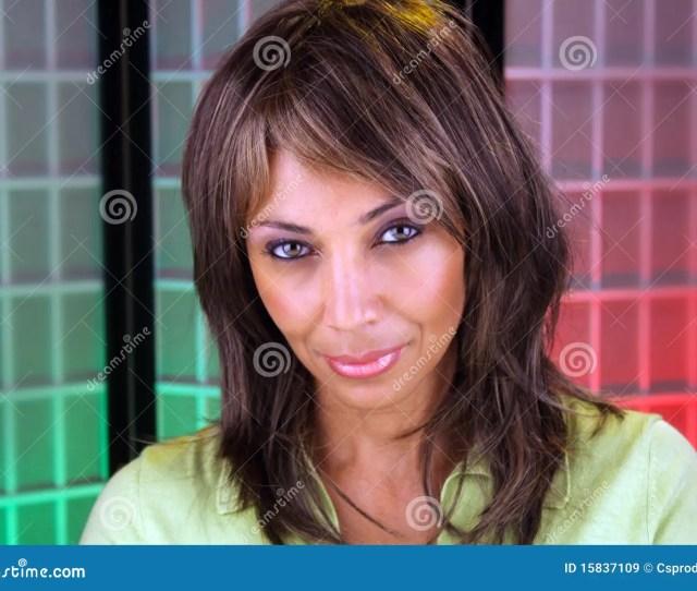 Beautiful Mature Black Woman Headshot 6
