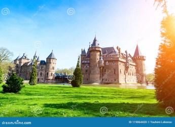fantasy haar holland medieval castle ancient sunny netherlands natural