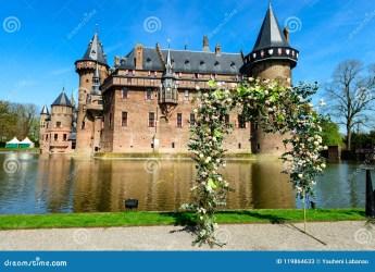 haar medieval holland ancient castle fantasy lawn nature