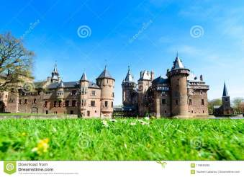 ancient castle holland haar medieval fantasy outdoors