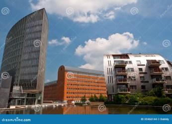buildings architecture modern residential nice apartment homes newly built den bosch netherlands neighborhood
