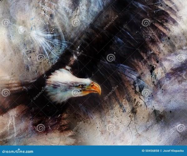 Beautiful Eagle Painting