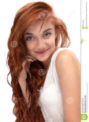 beautiful red haired girl age
