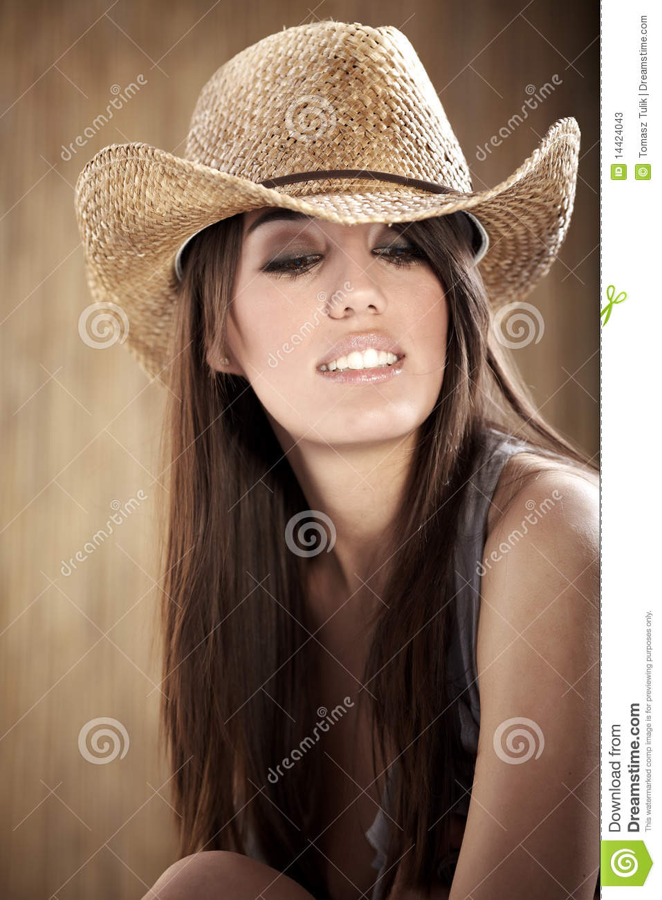 Beautiful Sexy Cowgirl Stock Photos Image 14424043